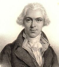 Jean-Joseph Mounier Grenoble Isère Lithographie Révolution Française 1833