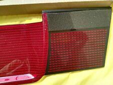 VW Golf 3 Heckblende Smoked Red Reflector , Unbranded good quality ! Super RARE!