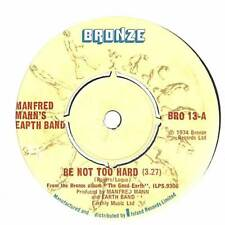 """Manfred Mann's Earth Band - Be Not Too Hard - 7"""" Vinyl Record Single"""