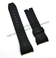 Comp. Seiko Lord SNAE14P SNDE81 SPC101P SNT027P2 Black Rubber 26mm Band / Strap