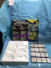 1985 Transformers G1 Devastator ORIGINAL.*BOX, Styrofoam ,Instructions Only**
