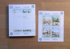 Europa CEPT bosnherz (Serbian rep) BL. 13 a (2005) Fr/** (mnh) 50 ST - € 1000