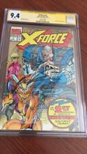X-FORCE #1 CGC 9.4 (1991) GOLD VARIANT SIGNED BY ROB LIEFELD CGC NEVER PRESSED