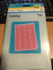 CUTTLEBUG EMBOSSING FOLDER 37-1927 NEW