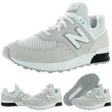 New Balance Girls 574 Ivory Fashion Sneakers 6 Medium (B,M) Big Kid BHFO 9104