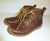 SOREL Ankle Boots Men's Brown Leather Chukka - US 7