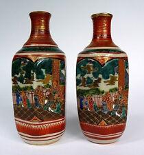 2 x Satsuma Vase Japan um 1920