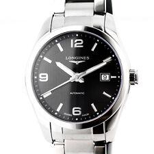 eacbf84dab87 Reloj Longines Conquest Dial Negro Clásico