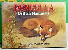 More details for british mammals-doncella-cigarette cards-archibald thorburn-1982-collectors item