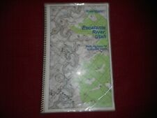 Escalante River Map  UTAH