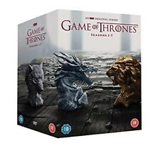 GAME OF THRONES COMPLETE SERIES 1-7 DVD COLLECTION SEASON 1 2 3 4 5 6 7 UK NEW