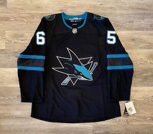 Adidas Climalite San Jose Sharks Erik Karlsson Alternate Jersey FL3510 Men's 56