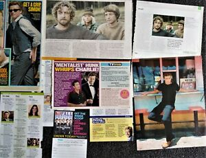 Simon Baker magazine clippings: The Mentalist, The Guardian