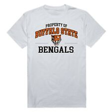 Buffalo State Bengals NCAA Cotton College Logo Workout Tee T-Shirt S - 2XL