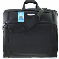 Travel Luggage Wardrobe Dress Garment Suit Carrier Case Suitbag Cover Bag Black