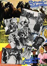 Donauschwaben besuchen Breslau Reklame 1937 Ludwig Hohlwein Kunstdruck Aufruf ad