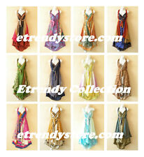 Wholesale Premium Lot - 10pcs Vintage Silk Magic Wrap Skirt Halter Dress +DVD