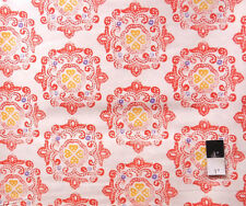 Ty Pennington PWTY016 Fall Impressions Delhi Orange Cotton Fabric By The Yard