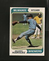 1974 Topps # 171 Eduardo Rodriguez NM-MT
