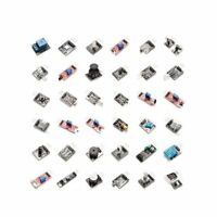 37 in 1 Sensor Module Starter Kit 37 Sensors Assortment Kit for Arduino MCU Educ
