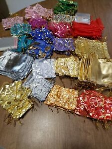 Small jewelry and trinket gift bags lot of over 300