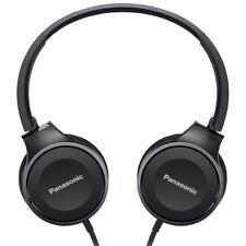 Auriculares de diadema Panasonic RP-HF100E-K plegables color Negro cascos musica