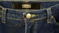 Beautiful *GENUINE* Womens VERSACE COUTURE Jeans 36W 42L - Fab Condition