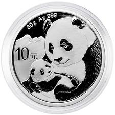 2019 10 Yuan Silver Chinese Panda .999 30g Brilliant Uncirculated