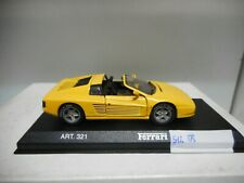 FERRARI 512 TR YELLOW DETAIL 1:43 NO ORIGINAL BOX