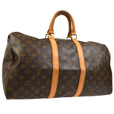 LOUIS VUITTON KEEPALL 45 TRAVEL HAND BAG PURSE MONOGRAM tn M41428 31842