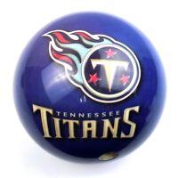 Brunswick Tennessee Titans Miller Lite Viz-A-Ball 12lb Bowling Ball