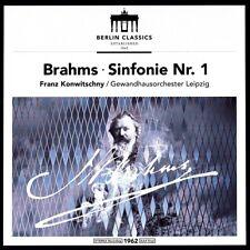FRANZ KONWITSCHNY/GEWANDHAUSORCHESTER LEIPZIG -BRAHMS: SINFONIE 1  VINYL LP NEW+