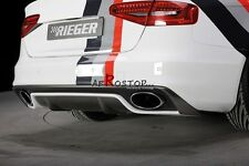 CARBON FIBER FACELIFT MODEL RIG RS5 STYLE REAR DIFFUSER FOR AUDI A4 B8