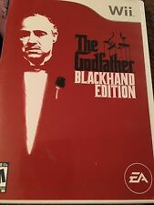The Godfather Blackhand Edition (Nintendo Wii, 2007) Complete