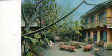 postcard USA  Patio of Maison de Ville Hotel  New Orleans Louisiana  unposted