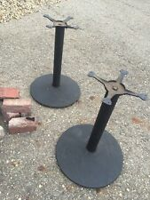 Two Available Price Separate Cast-Iron And Steel Table Base For Restaurant