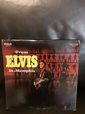 vinyl records- Elvis Presley- From Elvis In Memphis- VG Condition- LSP-4155