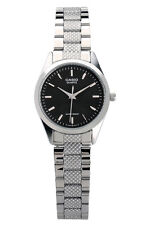 Casio LTP1274D-1A Women's Standard Stainless Steel Black Dial Analog Watch