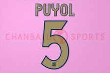 Puyol #5 2006-2007 Barcelona Homekit Nameset Printing