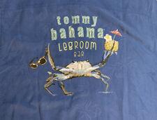 Tommy Bahama Original Fit LEGROOM BAR embroidered Shirt sz L Large 100% Silk