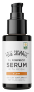 Four Sigmatic Superfood Serum with Reishi Glow - 29.6ml - New & Boxed