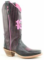 Twisted X Womens Black Cowboy, Western Boots Size 6.5