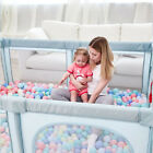 Baby Kids Playpen Extra Large Safety Playpen Play Center Activity Yard Toddler