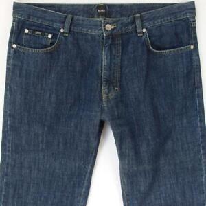 Hommes HUGO BOSS ARKANSAS Regular Straight Bleu Jeans W38 L34