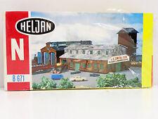 "HELJAN N SCALE U/A ""FOUNDRY"" PLASTIC MODEL KIT #671"