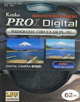 Kenko Pro 1 Digital Wideband Kreisförmige Pl (W) 62 MM