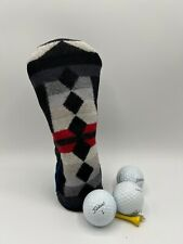 Geau Golf Hybrid headcover Pendleton Wool and Leather
