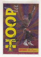 ANTONIO McDYESS 1995 Signature Rookies Prime Hoopla Signatures Auto #H2 81/500