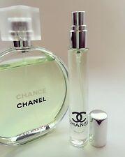 CHANEL CHANCE Eau Fraiche Toilette EDT Perfume Glass Spray Travel SAMPLE ~ 10ml
