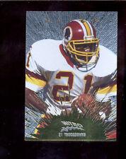 1997 CE Masters TERRY ALLEN Washington Redskins Nitro Gold Insert Card